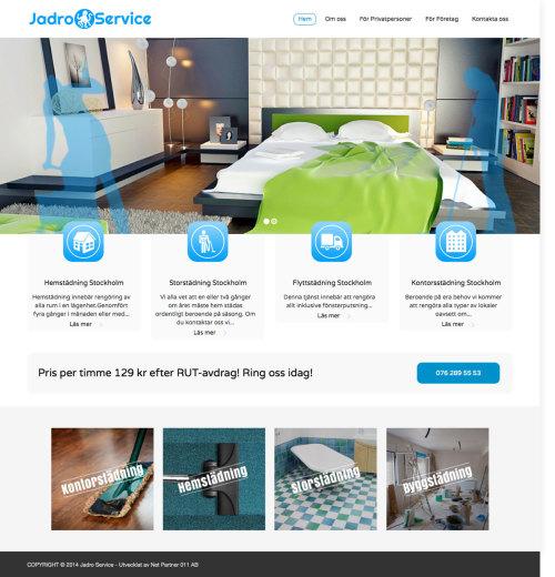 Referense - jadroservice städfirma i Stockholm