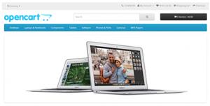 opencart fram - webbshop