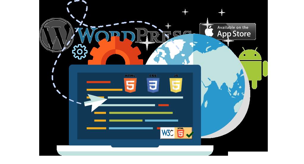 webbdesign, seo, wordpress, psd, html5, css3, JS